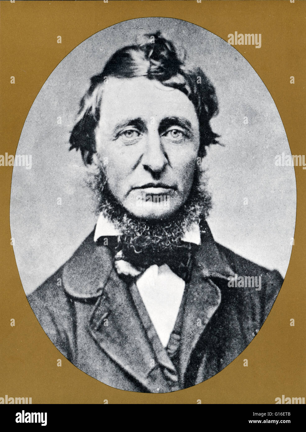 Henry David Thoreau July 12 1817 May 6 1862 Was An