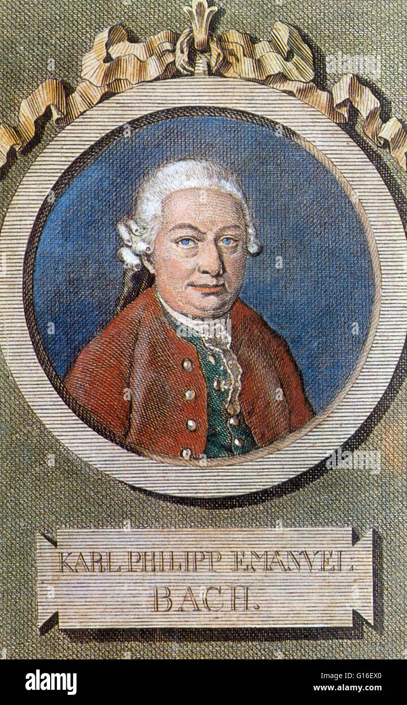 a biography of carl philipp emanuel bach a german composer Carl philipp emanuel bach, also formerly spelled karl philipp emmanuel bach, was a german classical period musician and composer, the fifth child and second son of johann sebastian bach and maria barbara bach.
