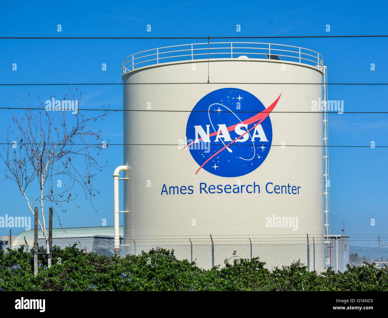 NASA Ames Research Center - Mountain View, CA, USA - Stock Image