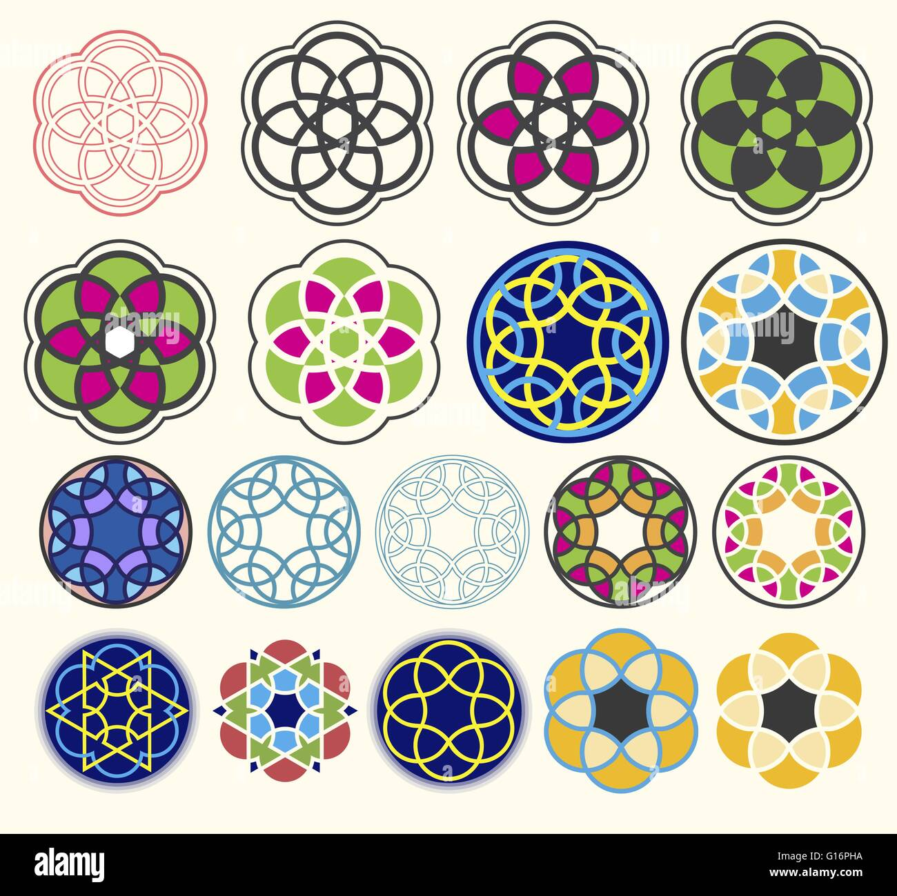vector geometric design pattern