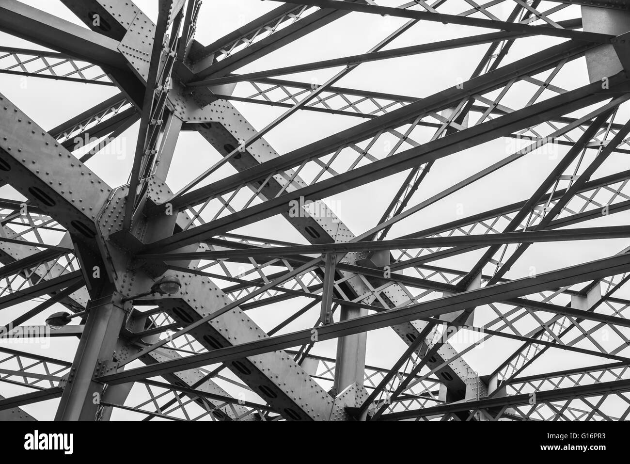 Quezon Bridge, Manila, Philippines Stock Photo