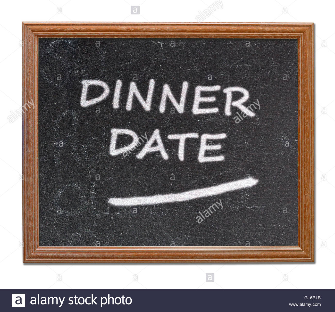Dinner Written Stock Photos & Dinner Written Stock Images - Alamy