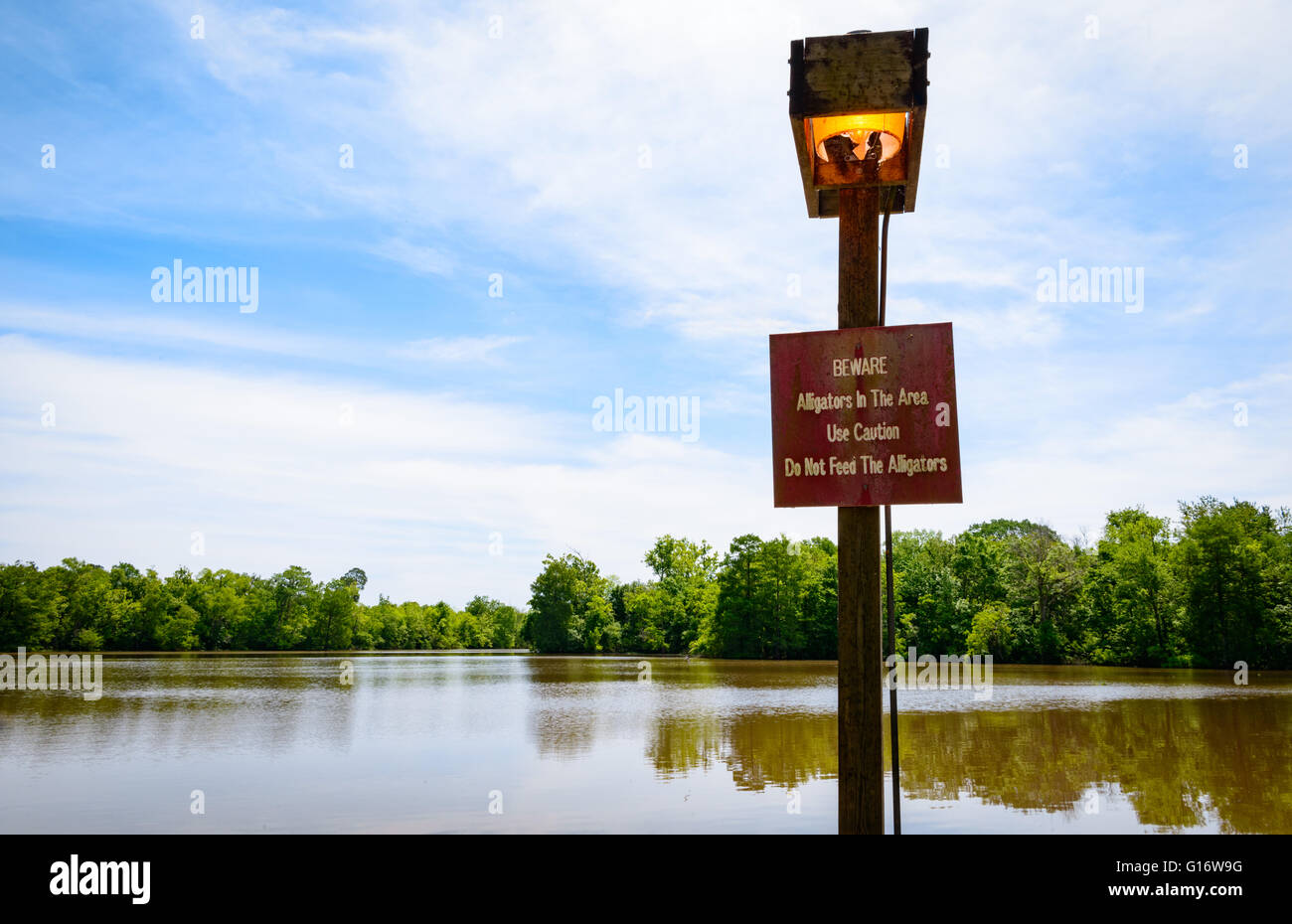 Lake Fausse Pointe State Park - Stock Image