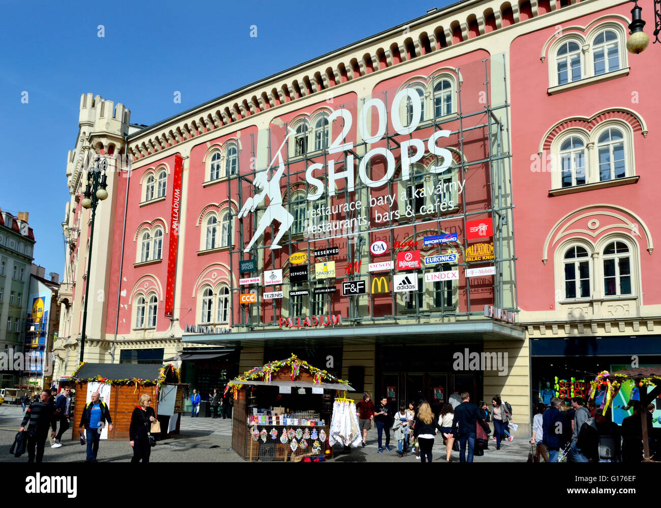 2db75a3624 Prague Shopping Mall Stock Photos   Prague Shopping Mall Stock ...