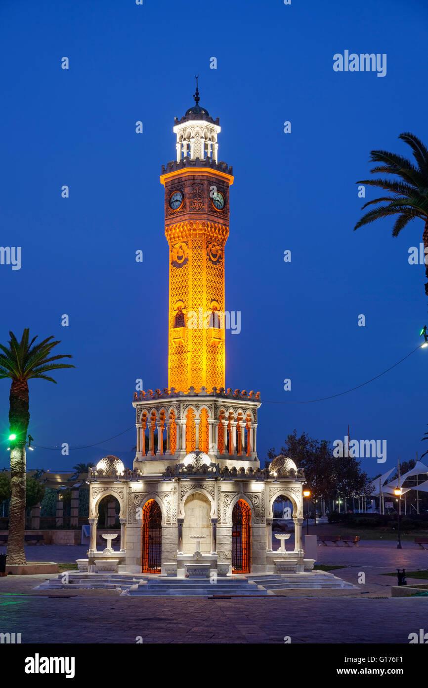 Izmir clock tower - Stock Image