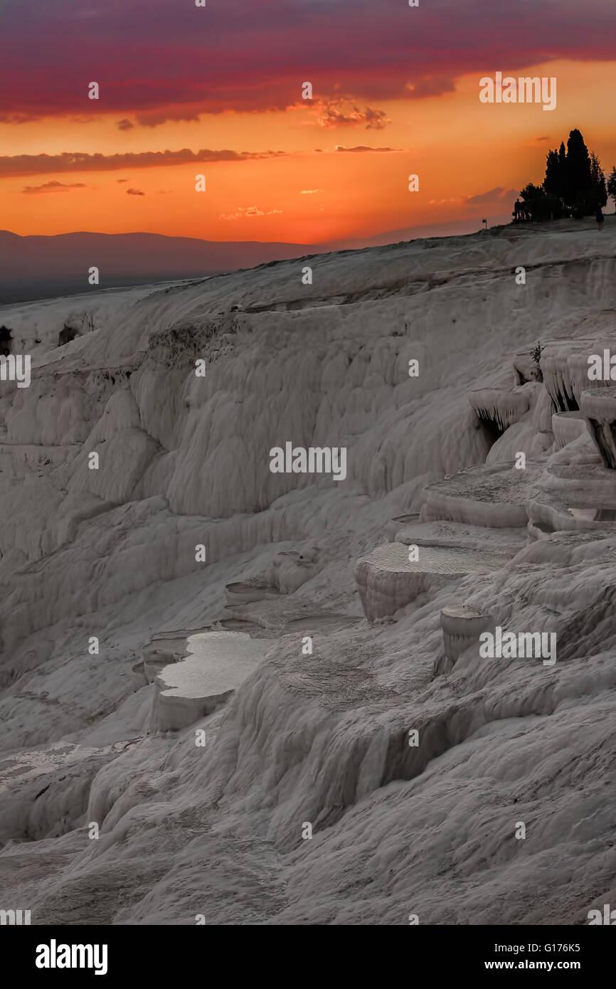 Pamukkale Turkey - Stock Image