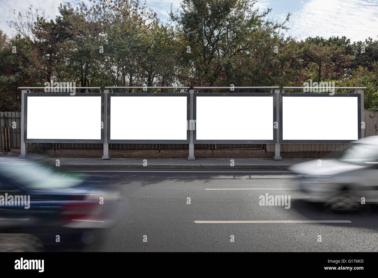 Billboards - Stock Image