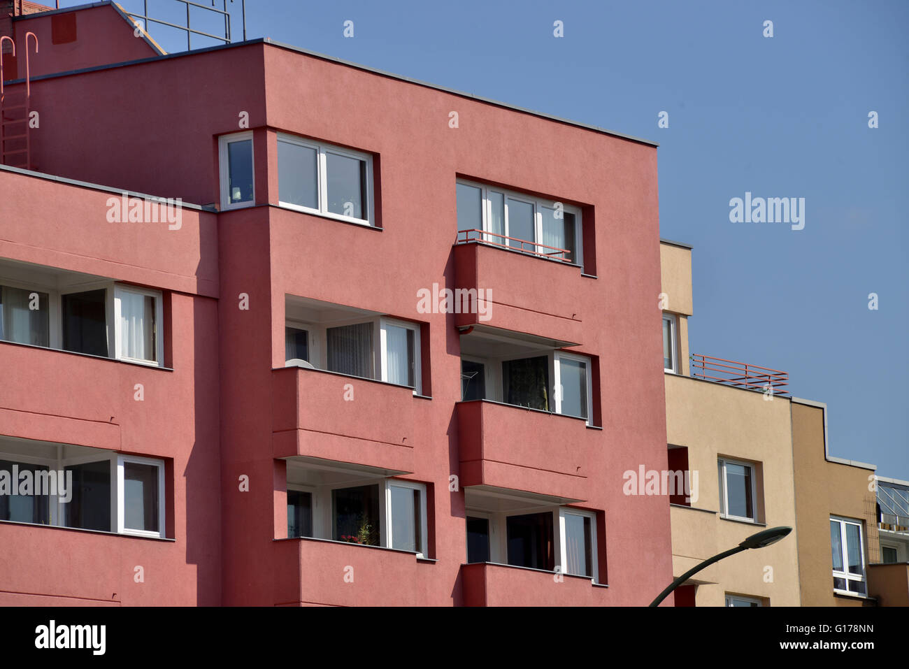 Neubau, Unter den Eichen, Lichterfelde, Berlin, Deutschland Stock Photo