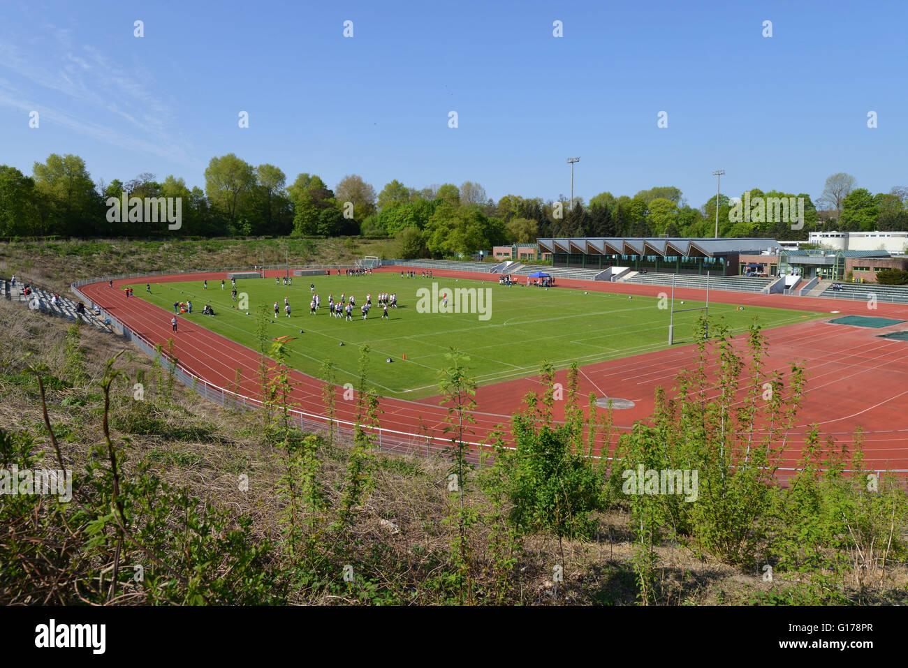 Stadion Wilmersdorf, Fritz-Wildung-Strasse, Wilmersdorf, Berlin, Deutschland - Stock Image