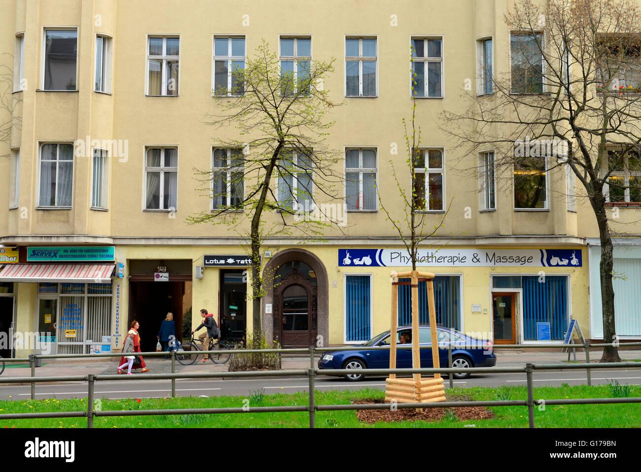 Wohnhaus, David Bowie, Hauptstrasse 155, Schoeneberg, Berlin, Deutschland / Schöeneberg - Stock Image