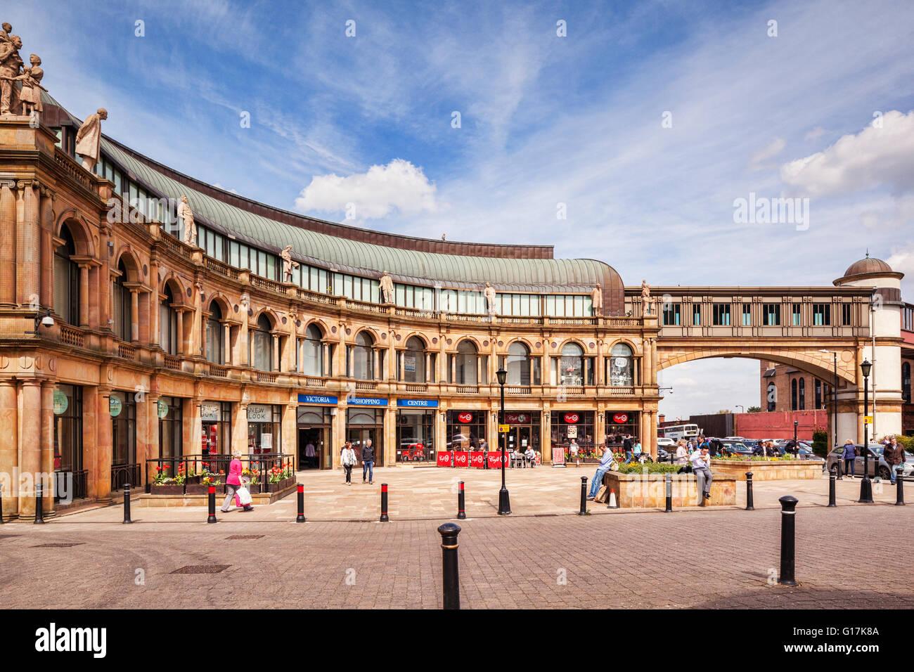 Victoria Shopping Centre, Harrogate, North Yorkshire, England, UK - Stock Image