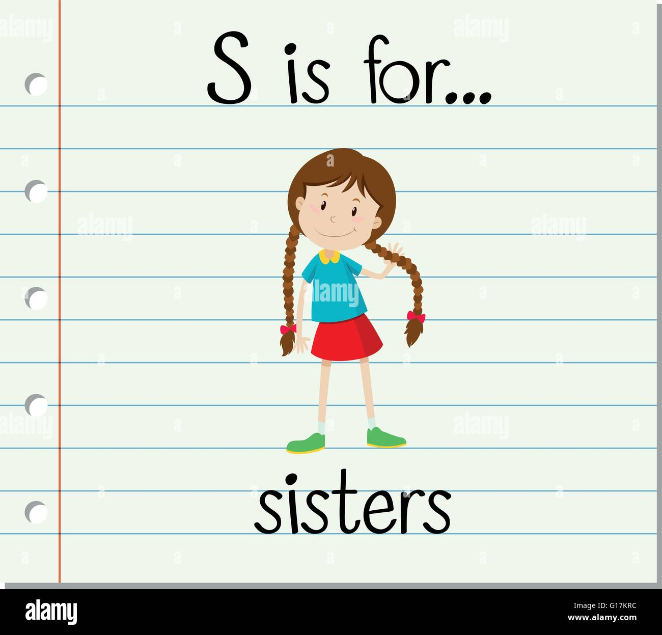 Girl Writing Letter Cartoon Stock Photos Girl Writing Letter