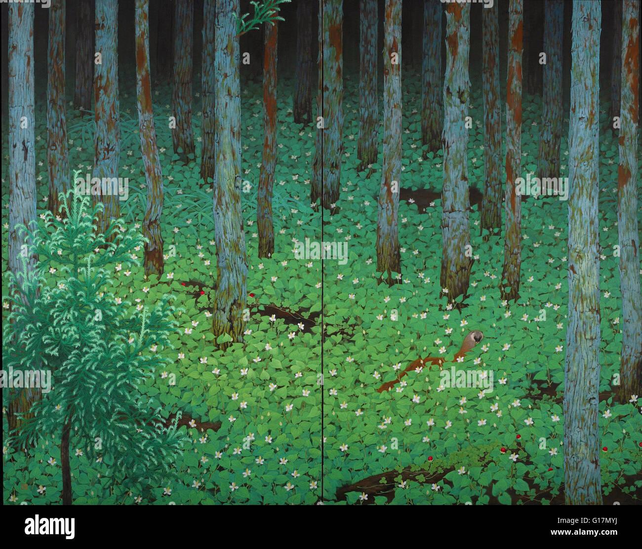 Katayama Bokuyo - Mori (Forest) - Minneapolis Institute of Art - Stock Image