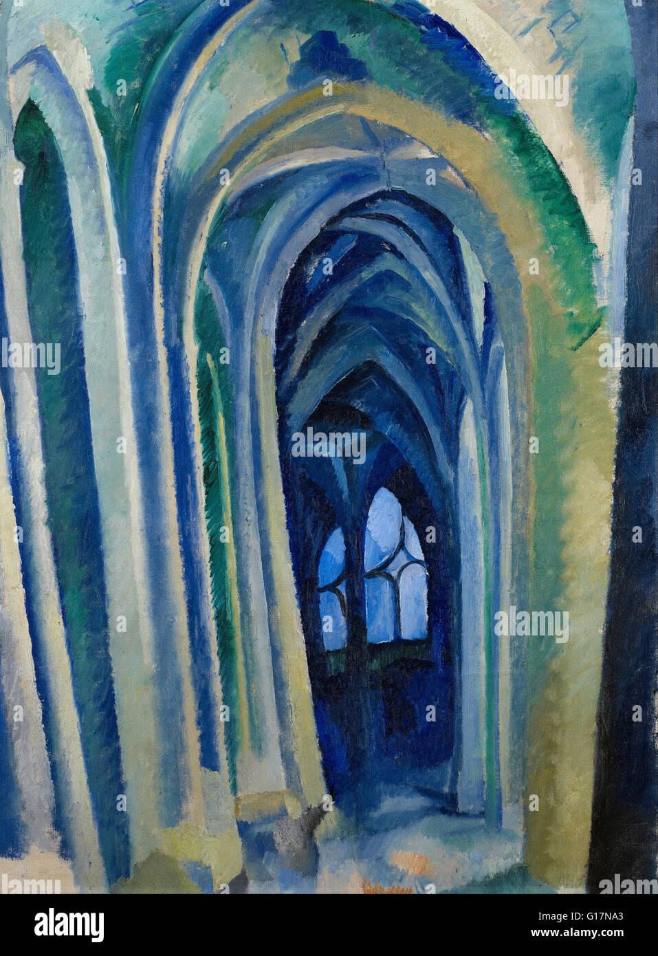 Robert Delaunay - Saint-Séverin - Minneapolis Institute of Art - Stock Image