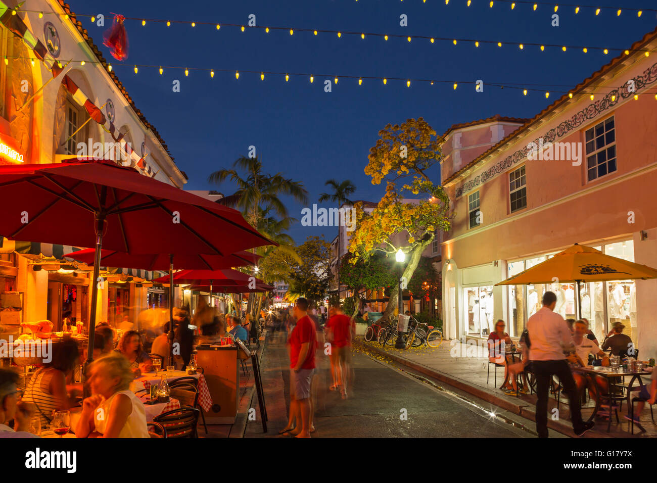 Restaurants Espanola Way Historic Spanish Village Miami Beach