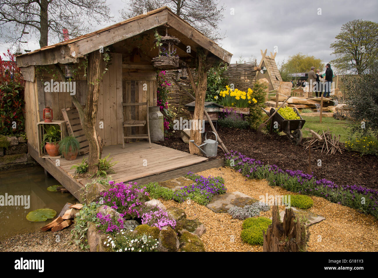 Harrogate Spring Flower Show 2016 North Yorkshire England