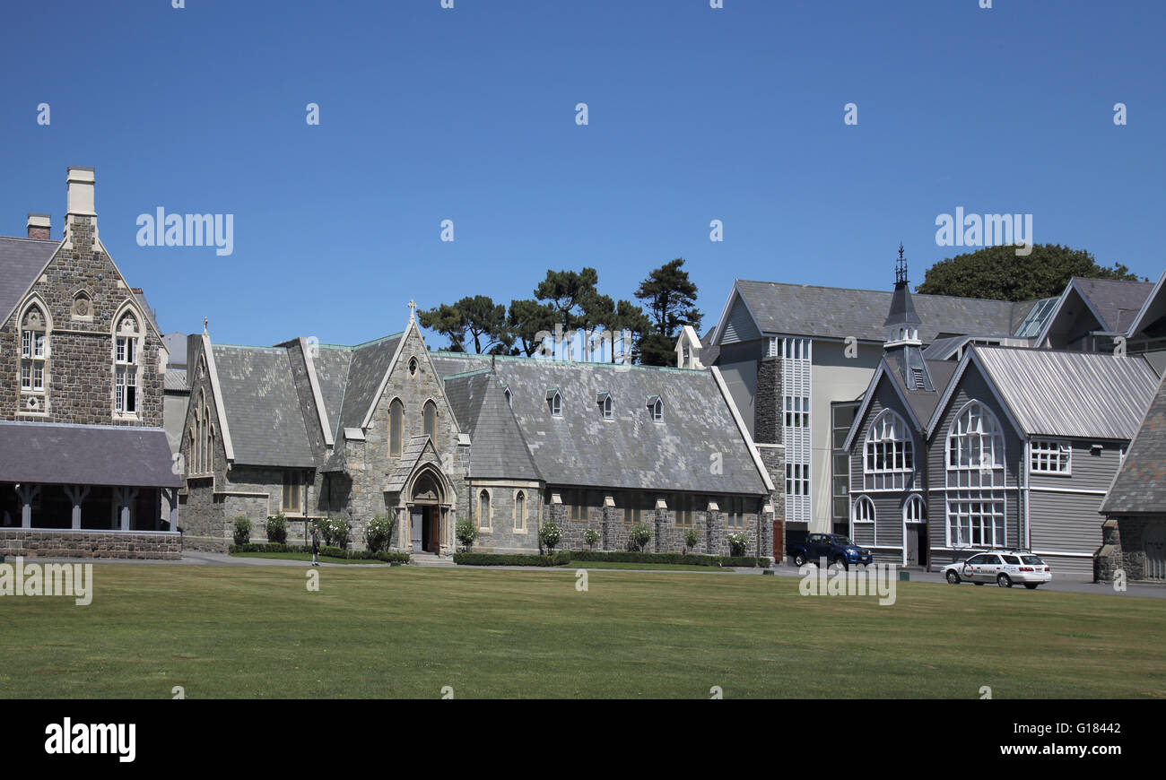 christs college canterbury in christchurch new zealand - Stock Image