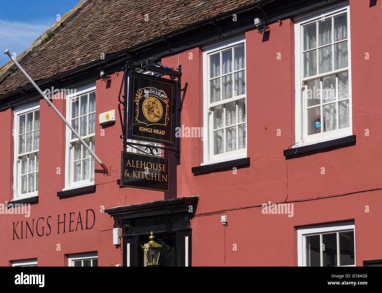 The Kings Head Public House, Poole, Dorset, UK. - Stock Image