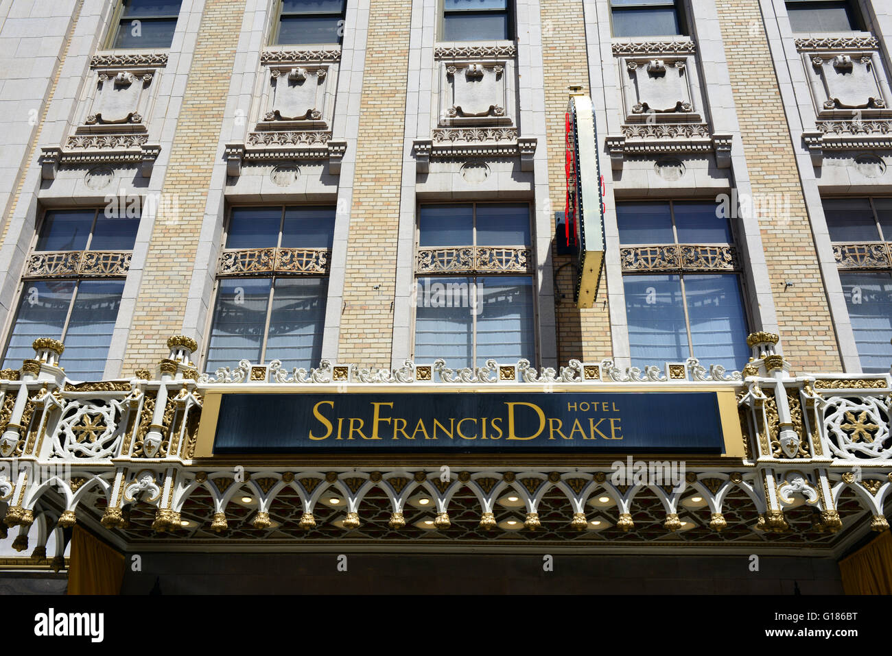 the sir francis drake hotel powell street san francisco. Black Bedroom Furniture Sets. Home Design Ideas