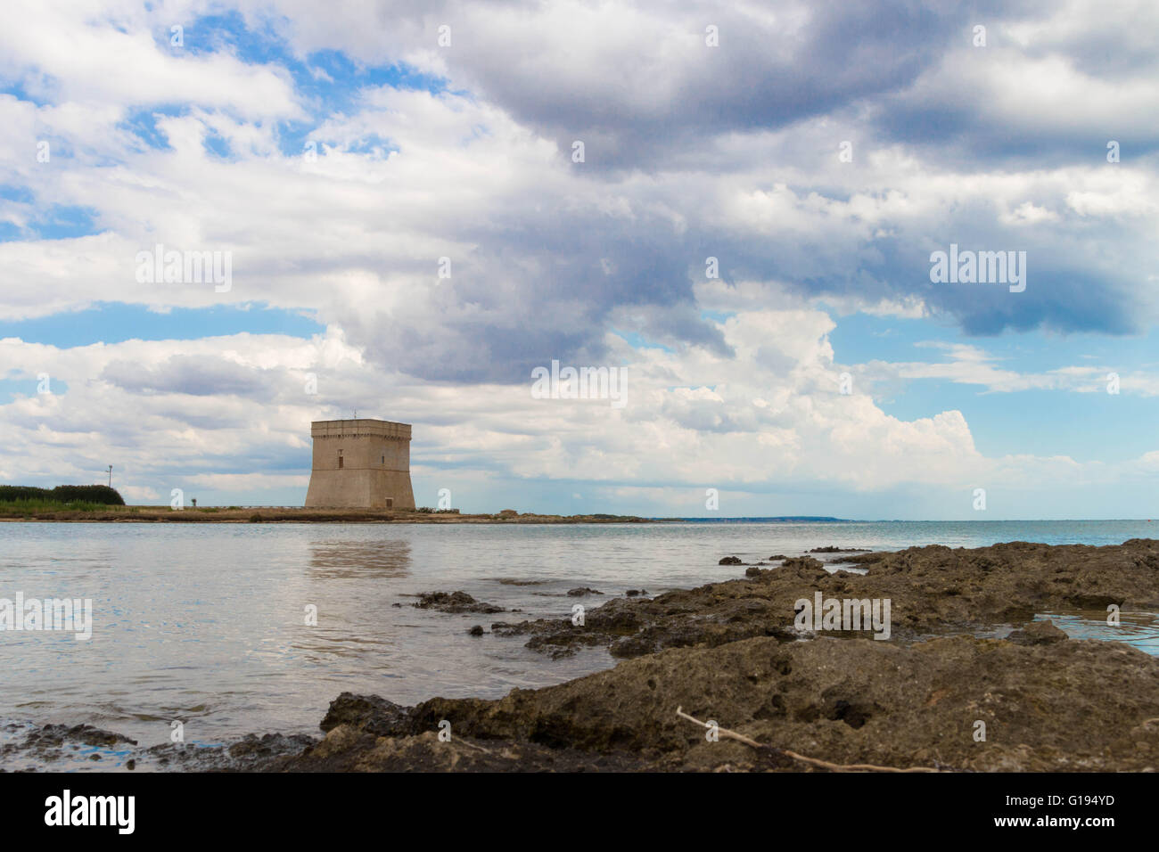 Chianca Tower 3 - Stock Image