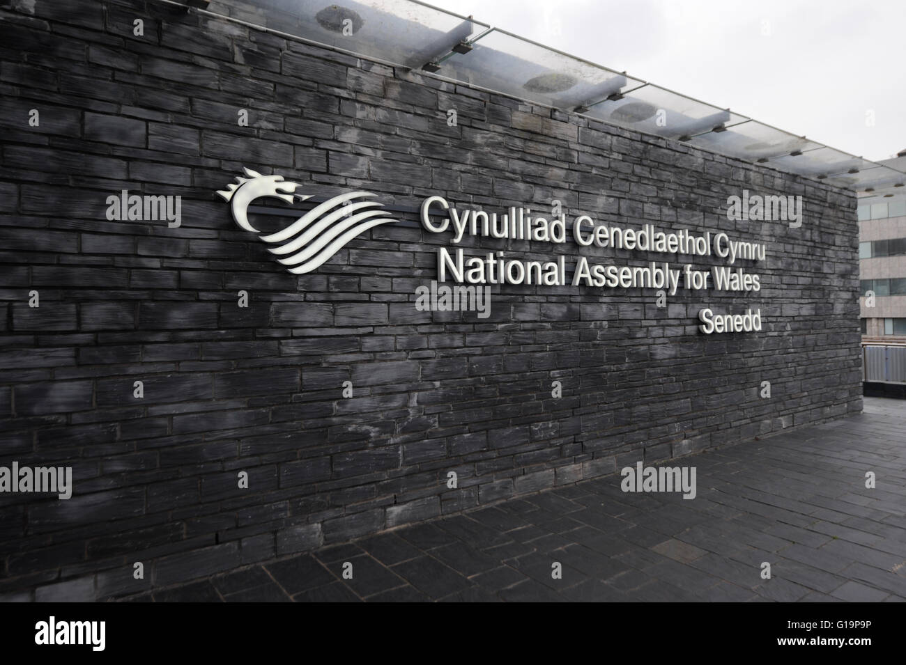National Assembly For Wales,Cardiff,UK - Stock Image