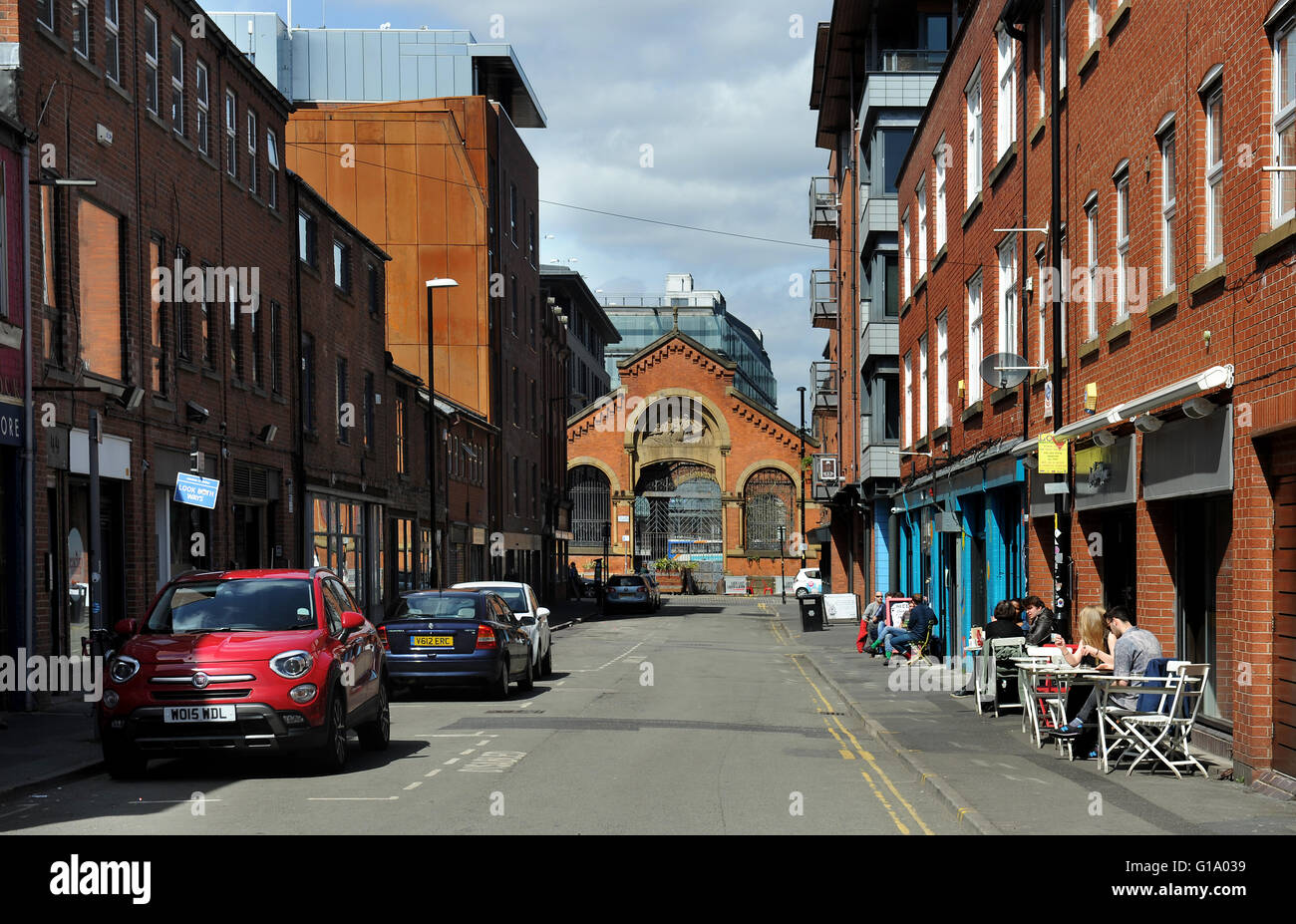 Northern Quarter, Manchester, Tuesday May 10, 2016. - Stock Image