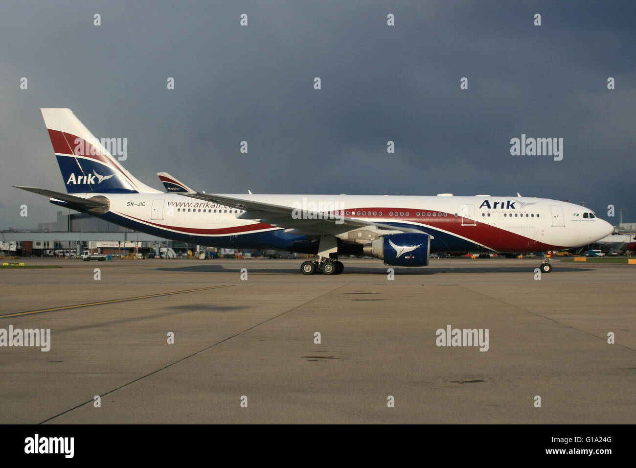 ARIK NIGERIA A330 - Stock Image