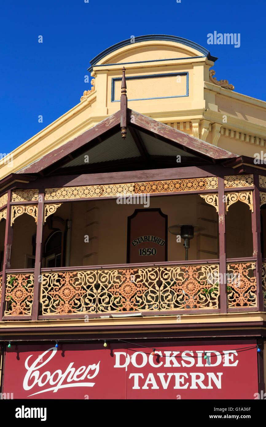Dockside Tavern, Port Adelaide, South australia, Australia - Stock Image