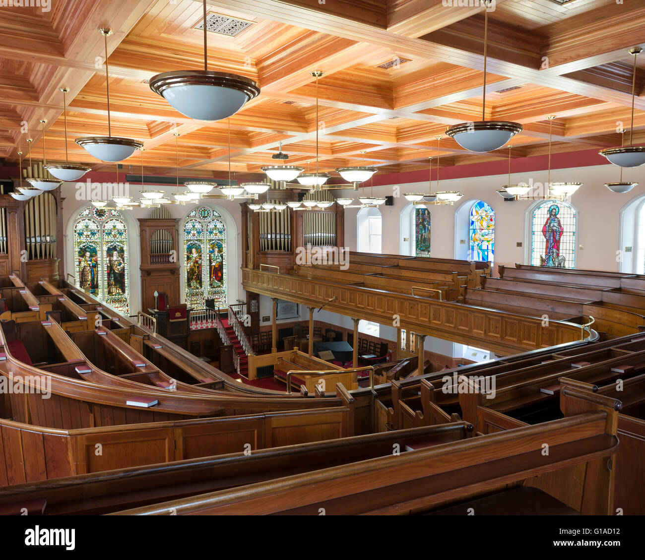 First Derry presbyterian church. Derry, Londonderry. Northern Ireland. UK. Europe - Stock Image