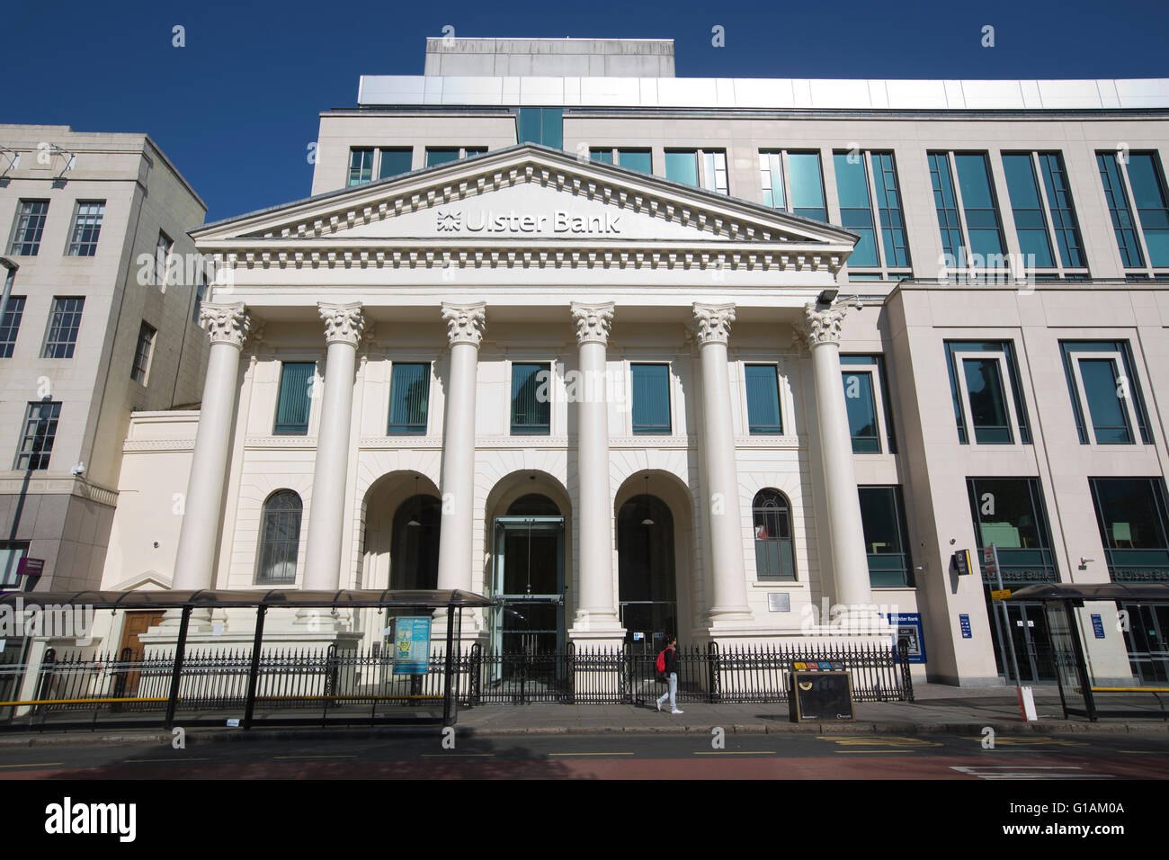 Ulster Bank headquarters, Donegall Square East, Belfast, Northern Ireland - Stock Image