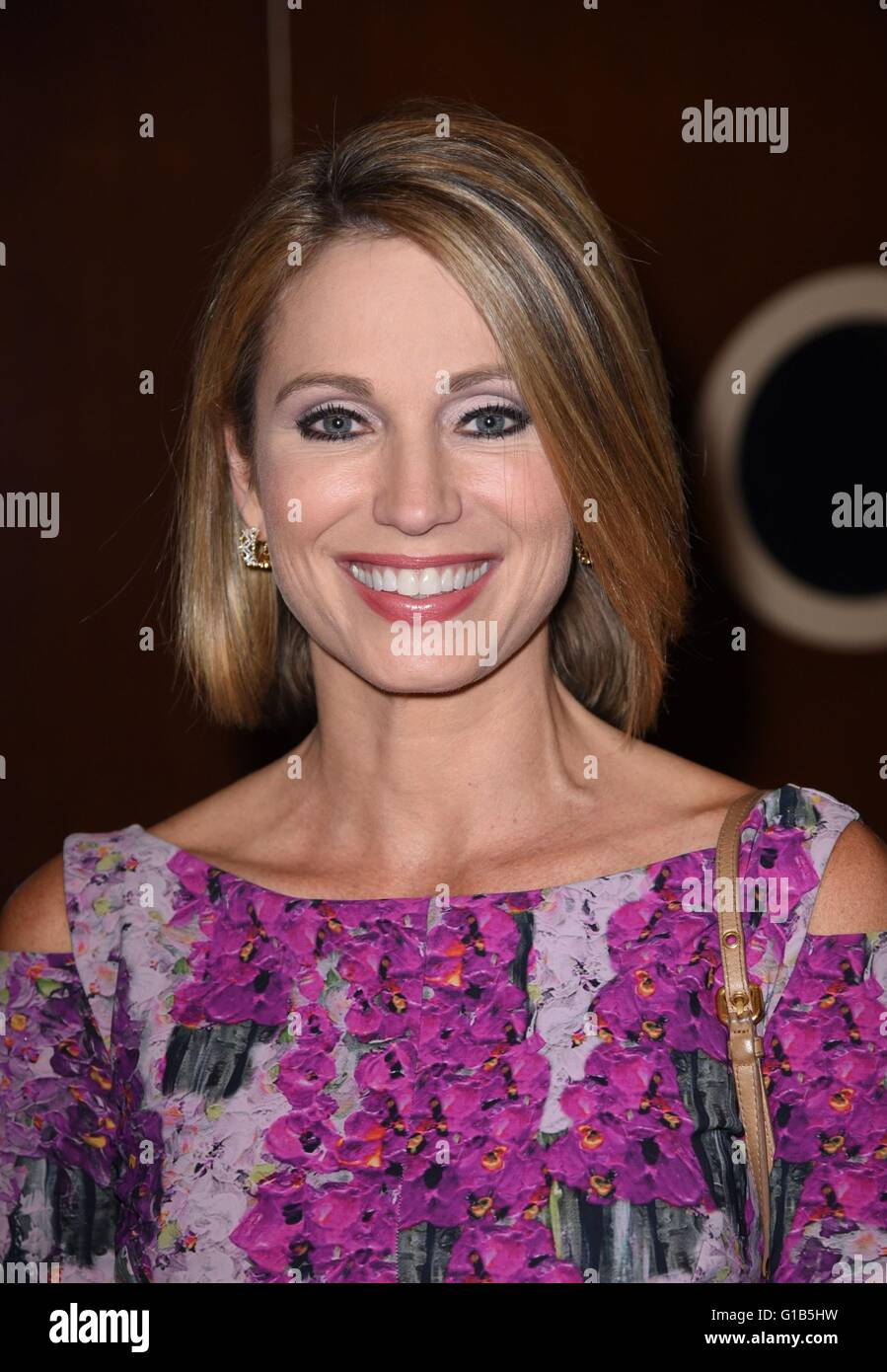 New York, NY, USA. 12th May, 2016. Amy Robach in attendance for Forbes Women's Summit, Pier 60, Chelsea Piers, New Stock Photo