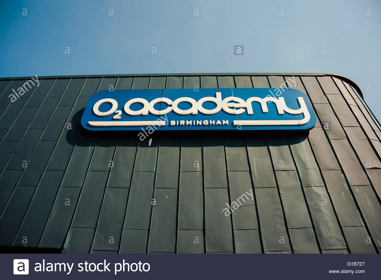 Birmingham, England, UK. 12th May 2016. UK Weather, Sunshine in Birmingham The o2 Academy Birmingham is a music Stock Photo