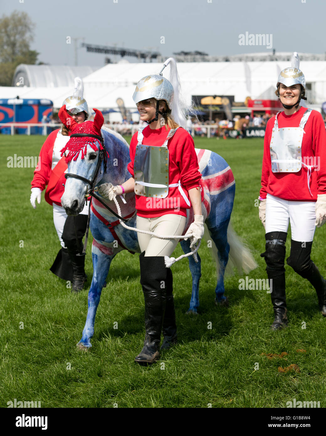 Royal Windsor Horse Show 2016 Competitors In The Riding For Disabled Fancy Dress