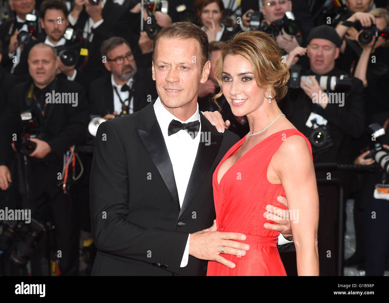cannes france 12th may 2016 italian actor rocco siffredi and stock photo 104125638 alamy. Black Bedroom Furniture Sets. Home Design Ideas