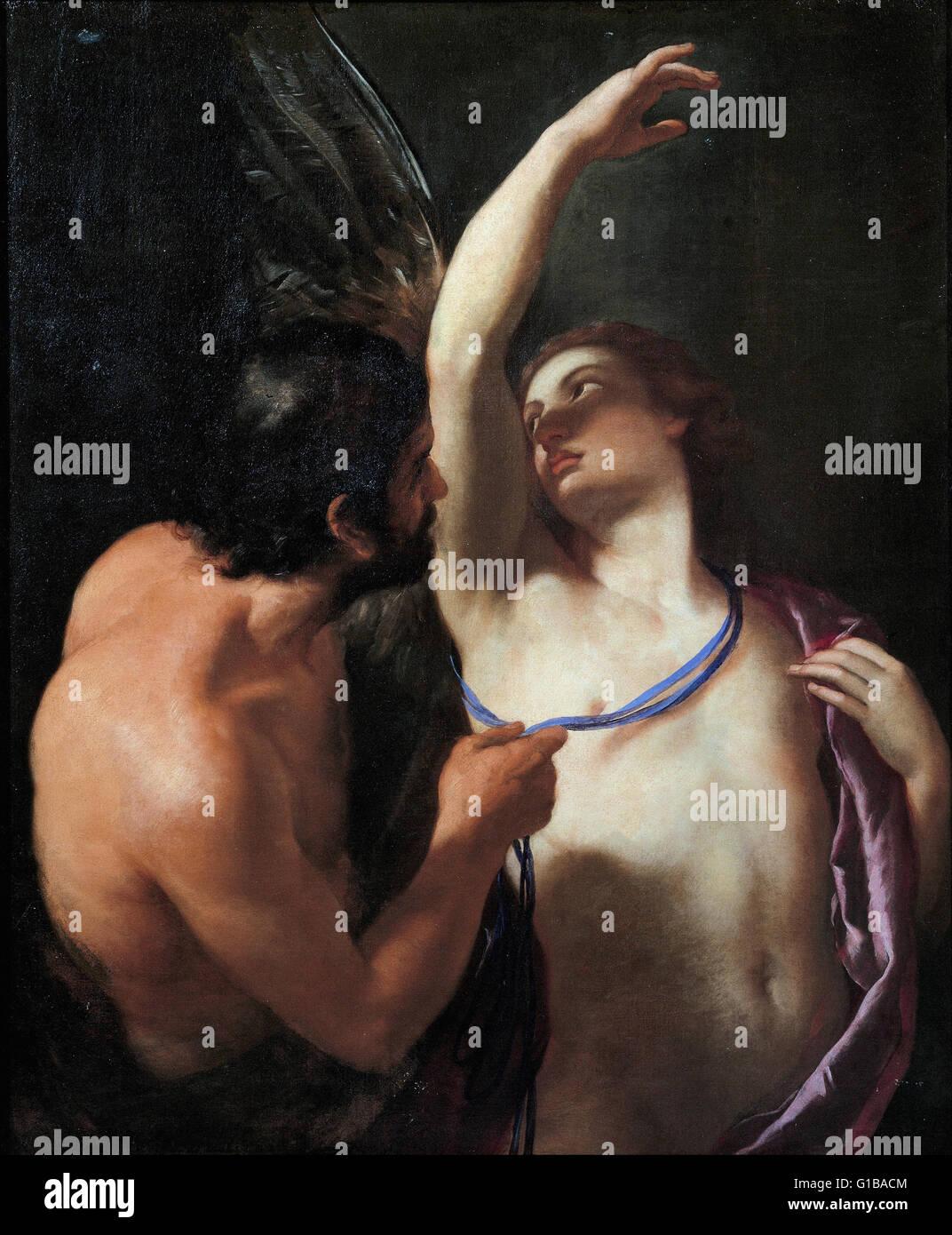 Andrea Sacchi - Daedalus and Icarus - Musei di Strada Nuova Genova - Stock Image