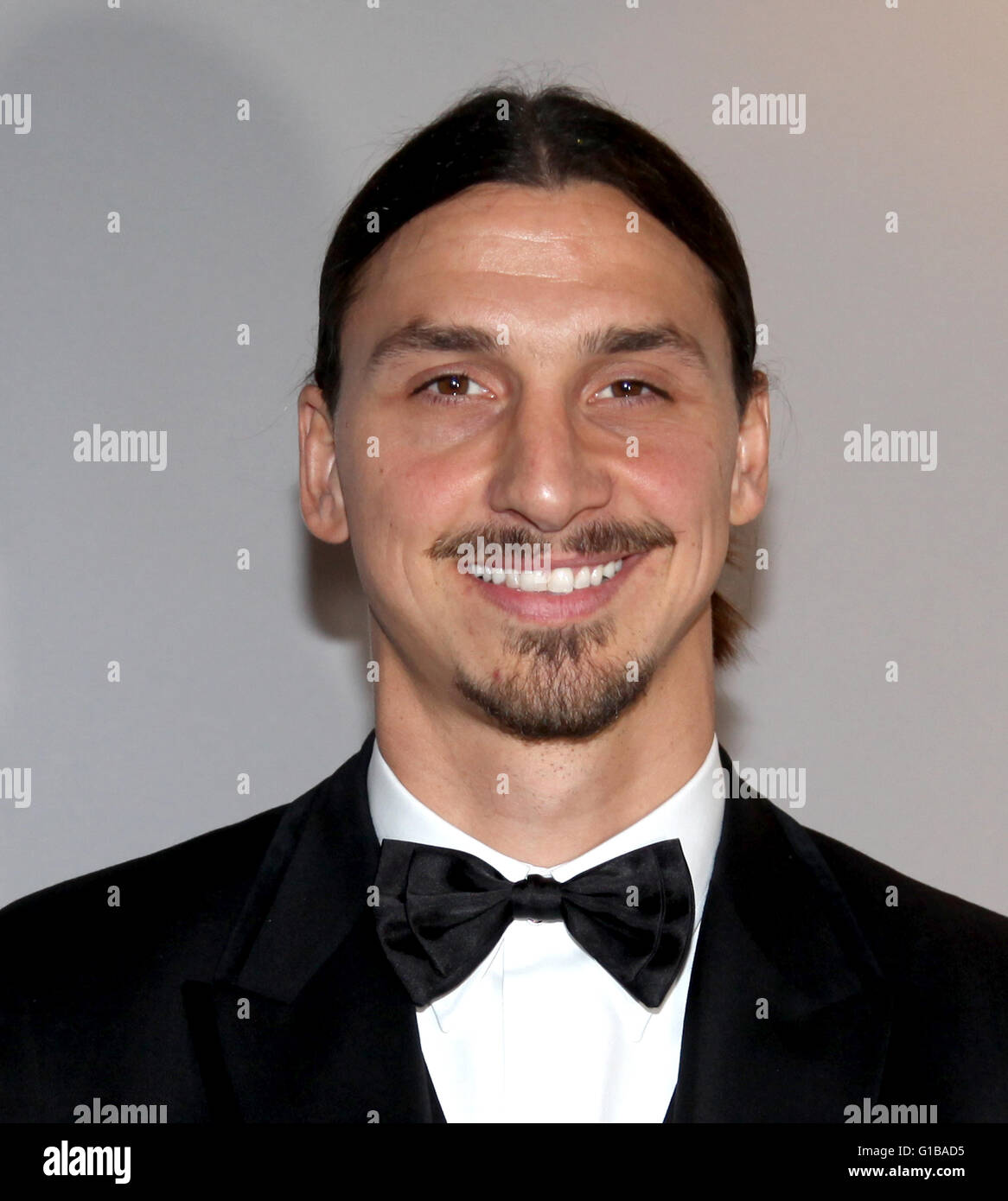 ZLATAN IBRAHIMOVIC Swedish professional football player - Stock Image