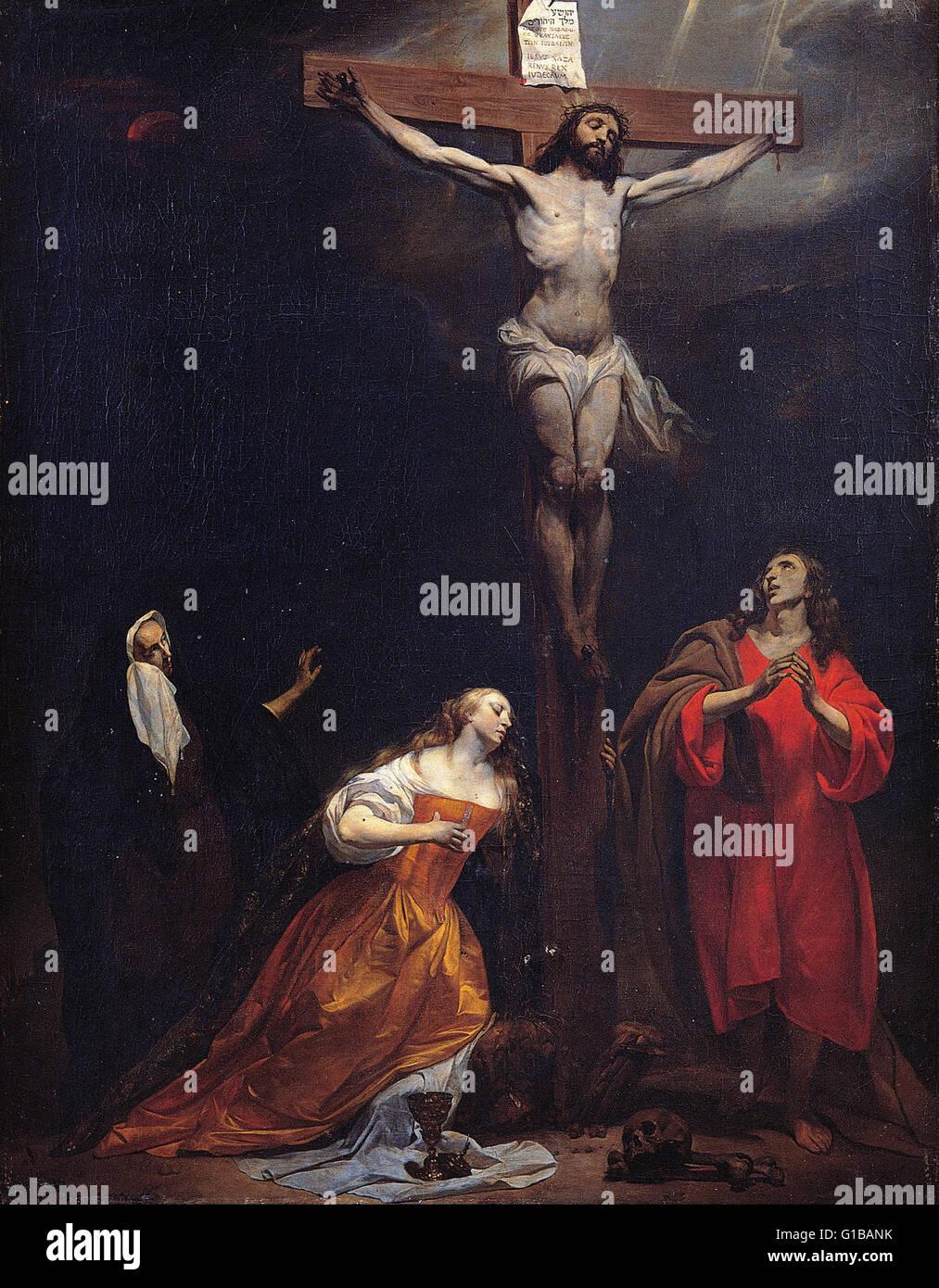 Gabriel Metsu - Crucifixion - Musei Capitolini Roma Stock Photo