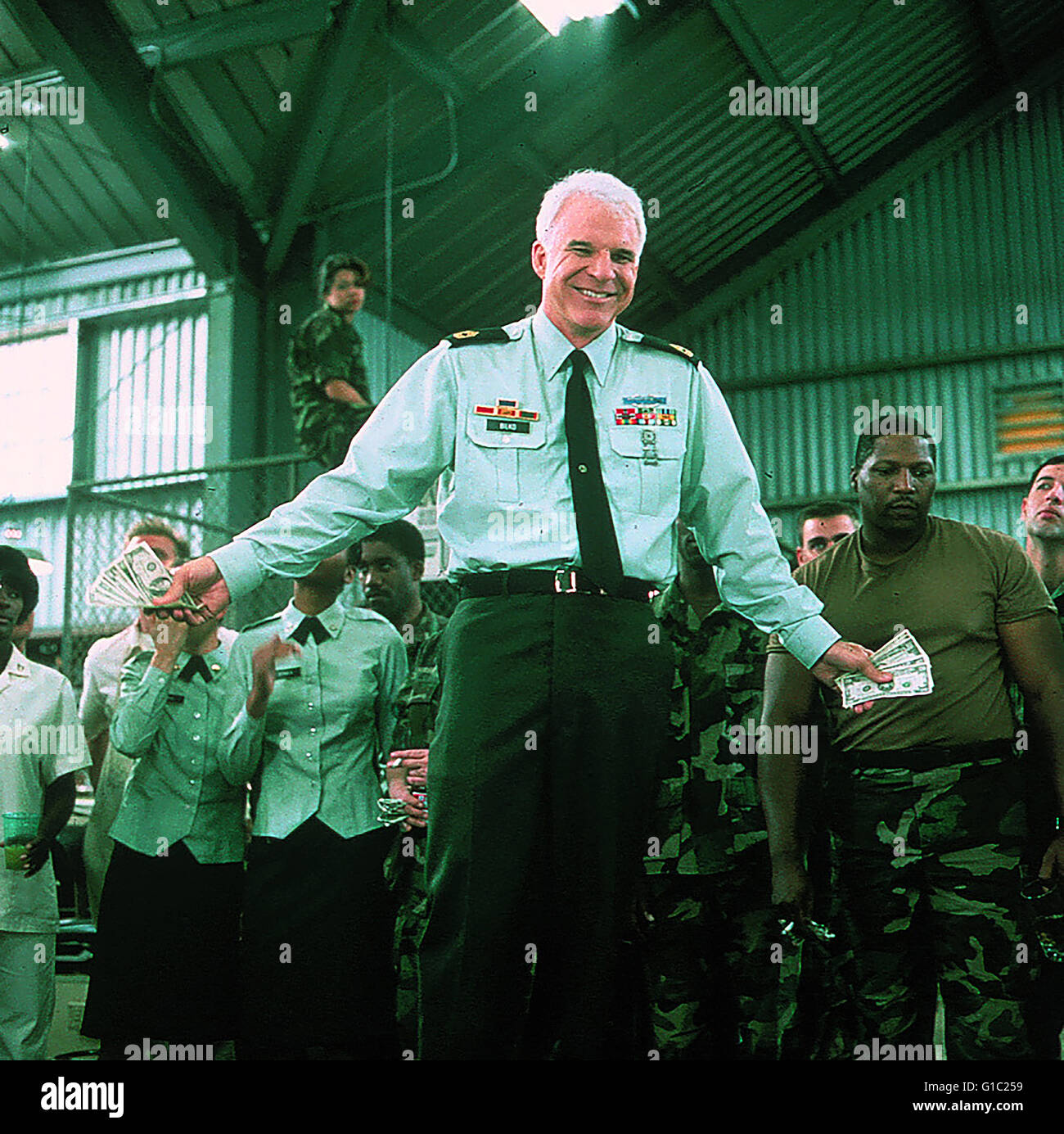 Sgt. Bilko / Steve Martin, - Stock Image