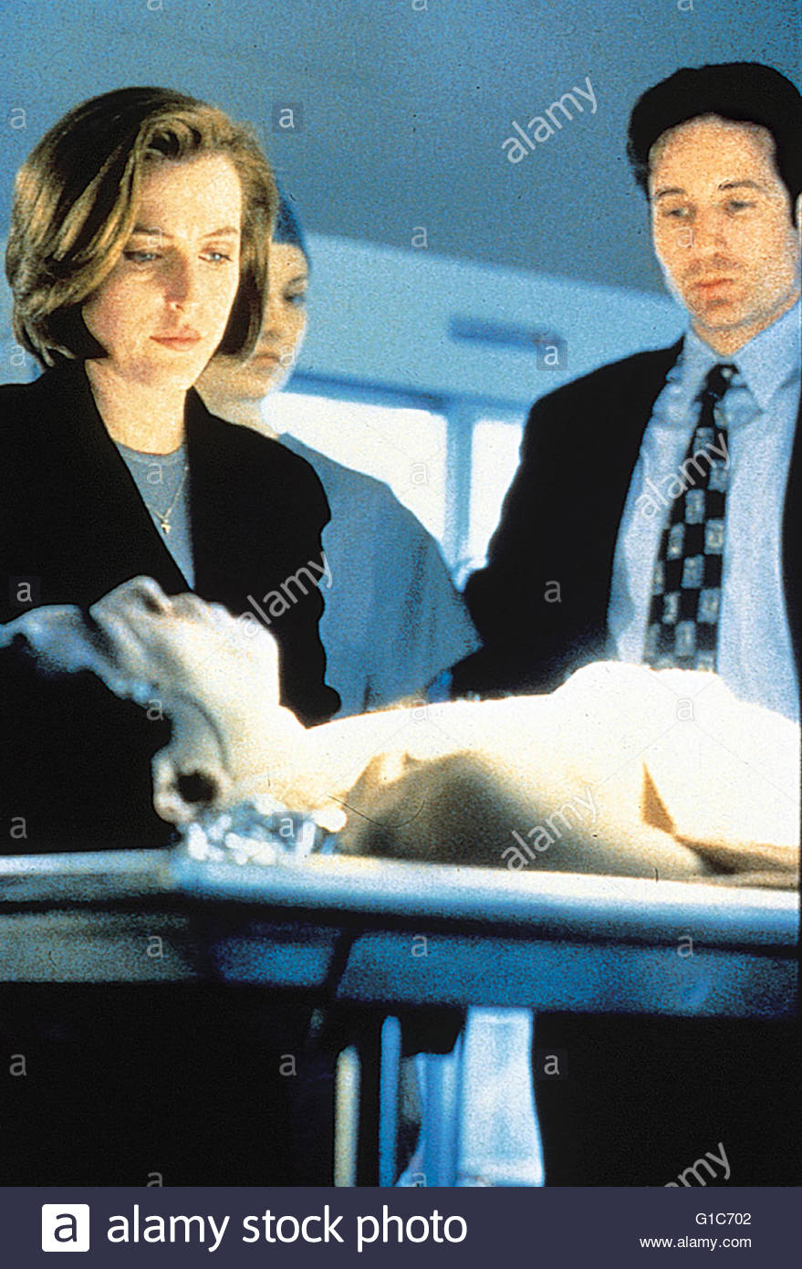 Akte X / Gillian Anderson / David Duchovny / The X-Files, Stock Photo