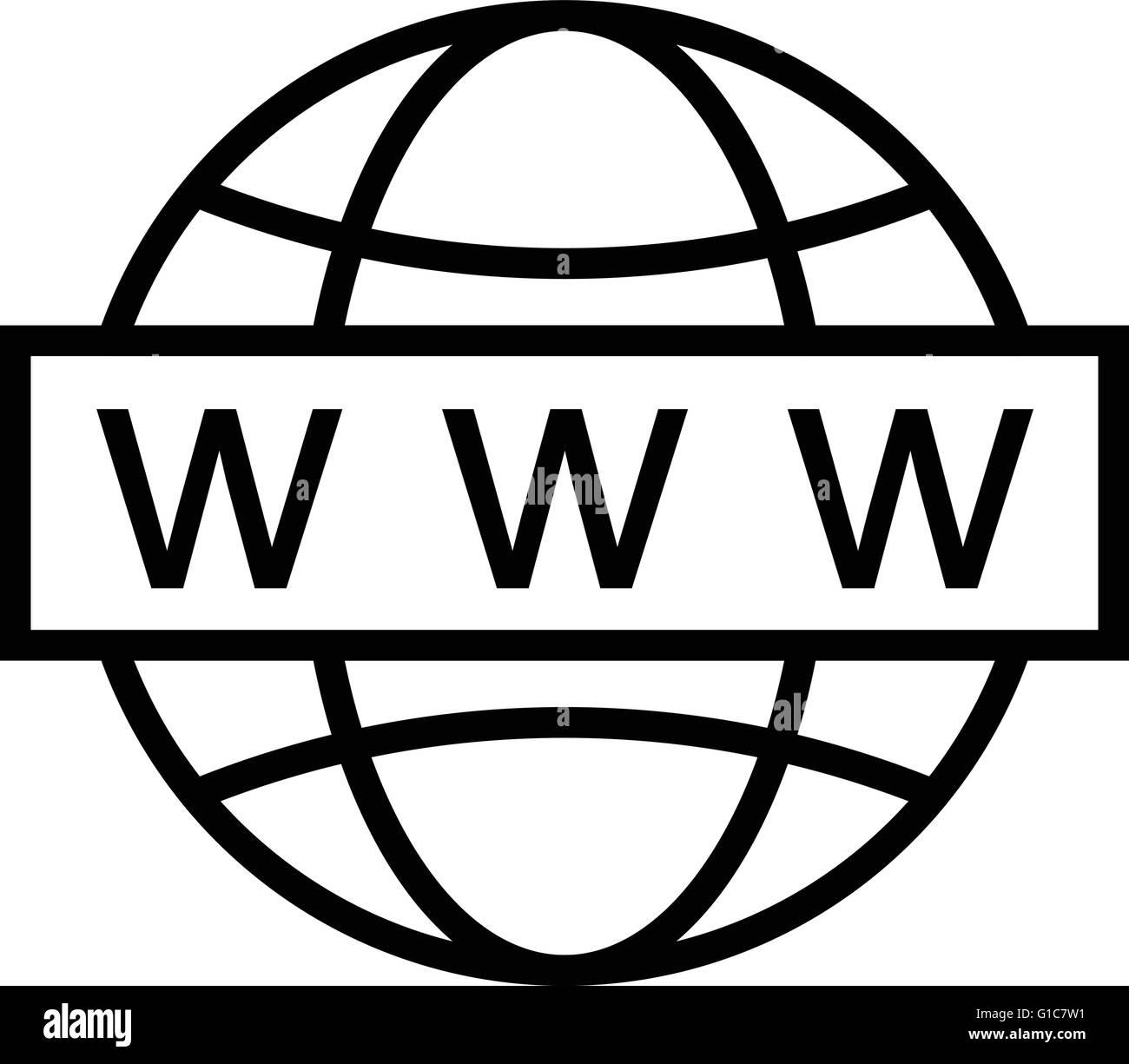 Web Search - Stock Vector
