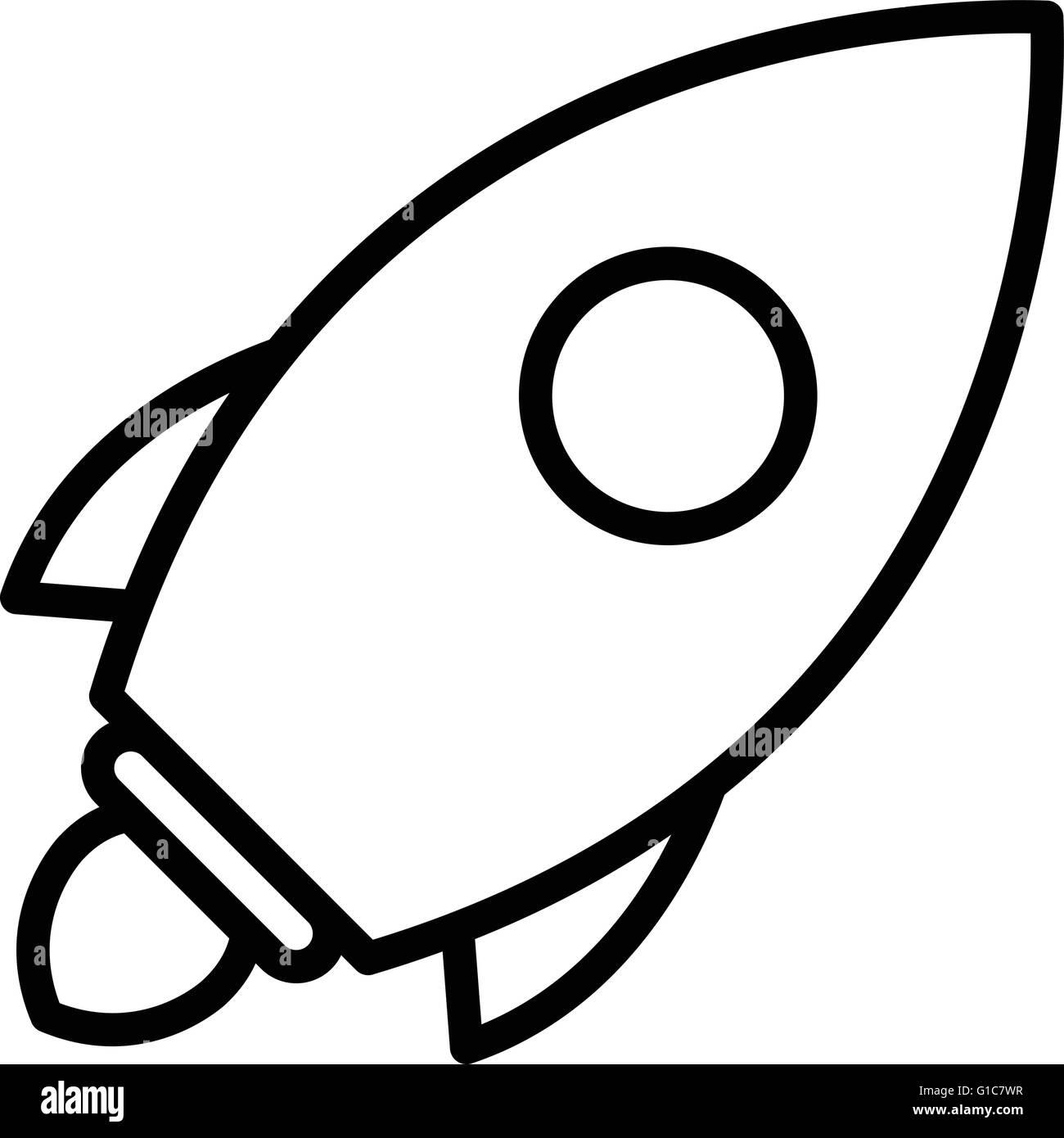 Rocket - Stock Vector