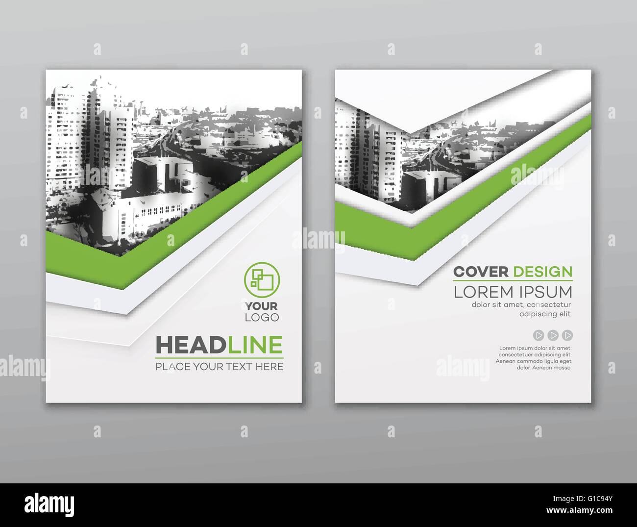 brochure flyer design template leaflet cover presentation abstract