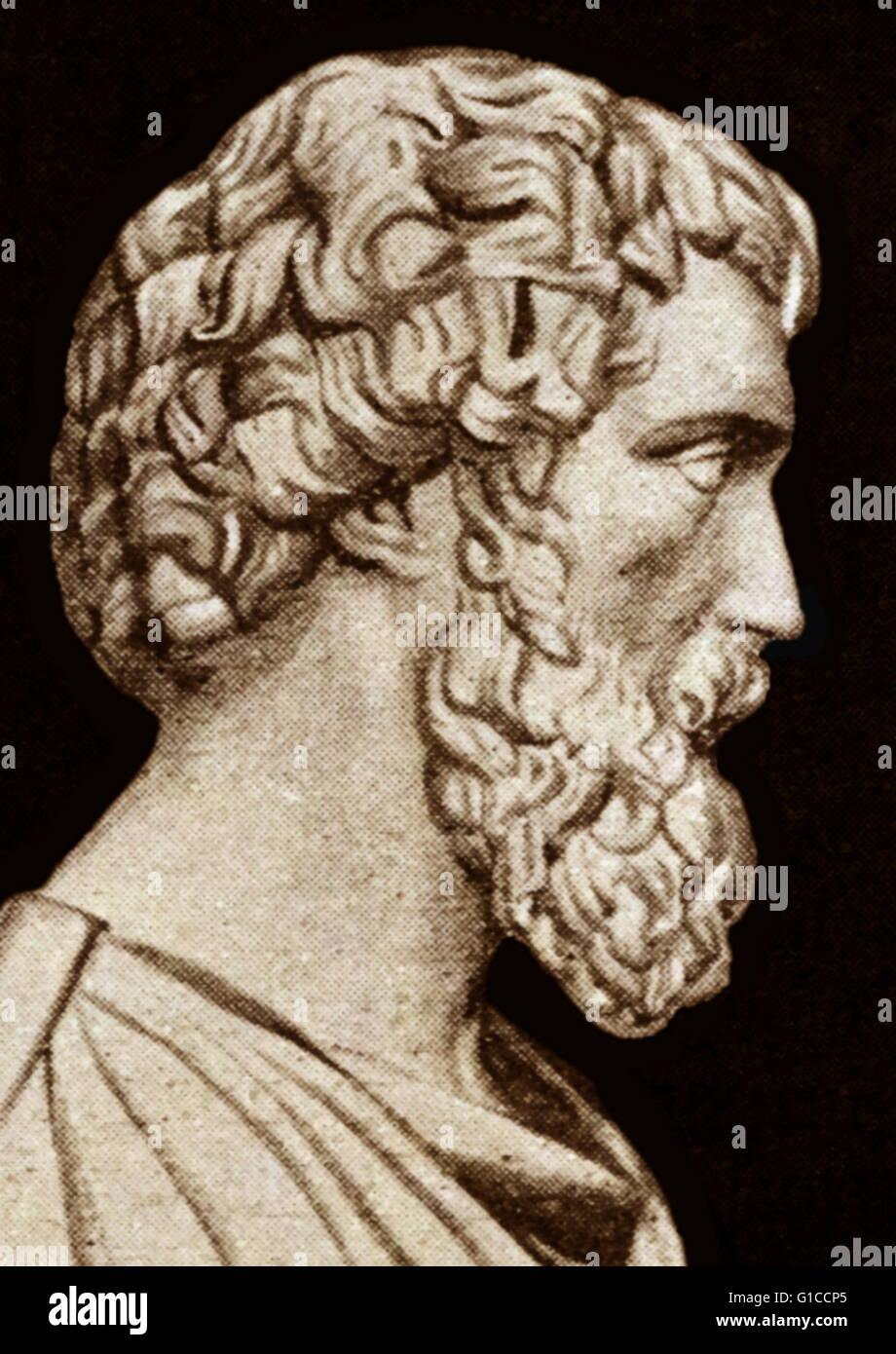 Bust of the Roman Emperor Didius Julianus - Stock Image