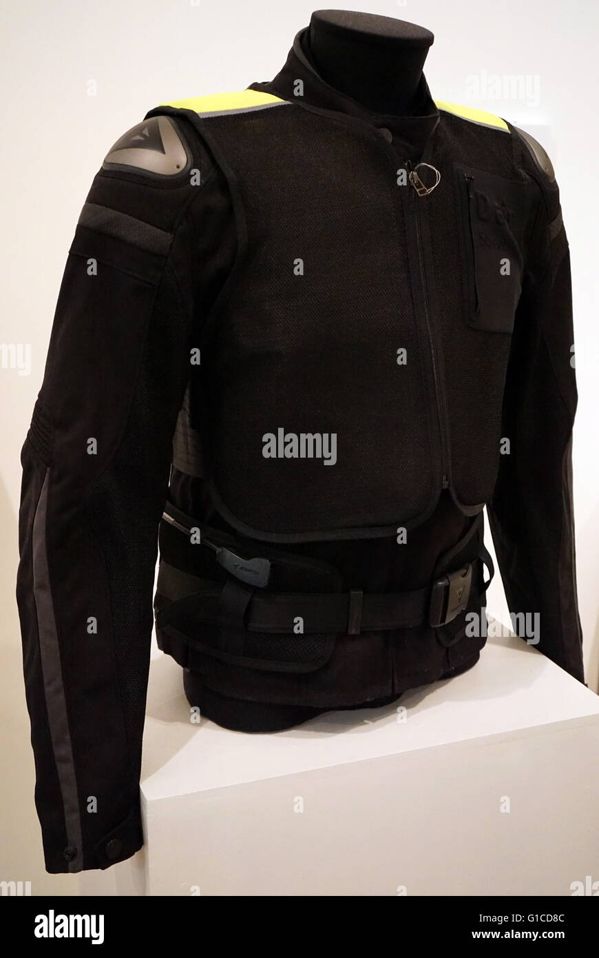 D-Air Bog- Street, an airbag for motorcyclists. Designed by Vittorio Cafaggi/Dainese. Dated 2015 - Stock Image