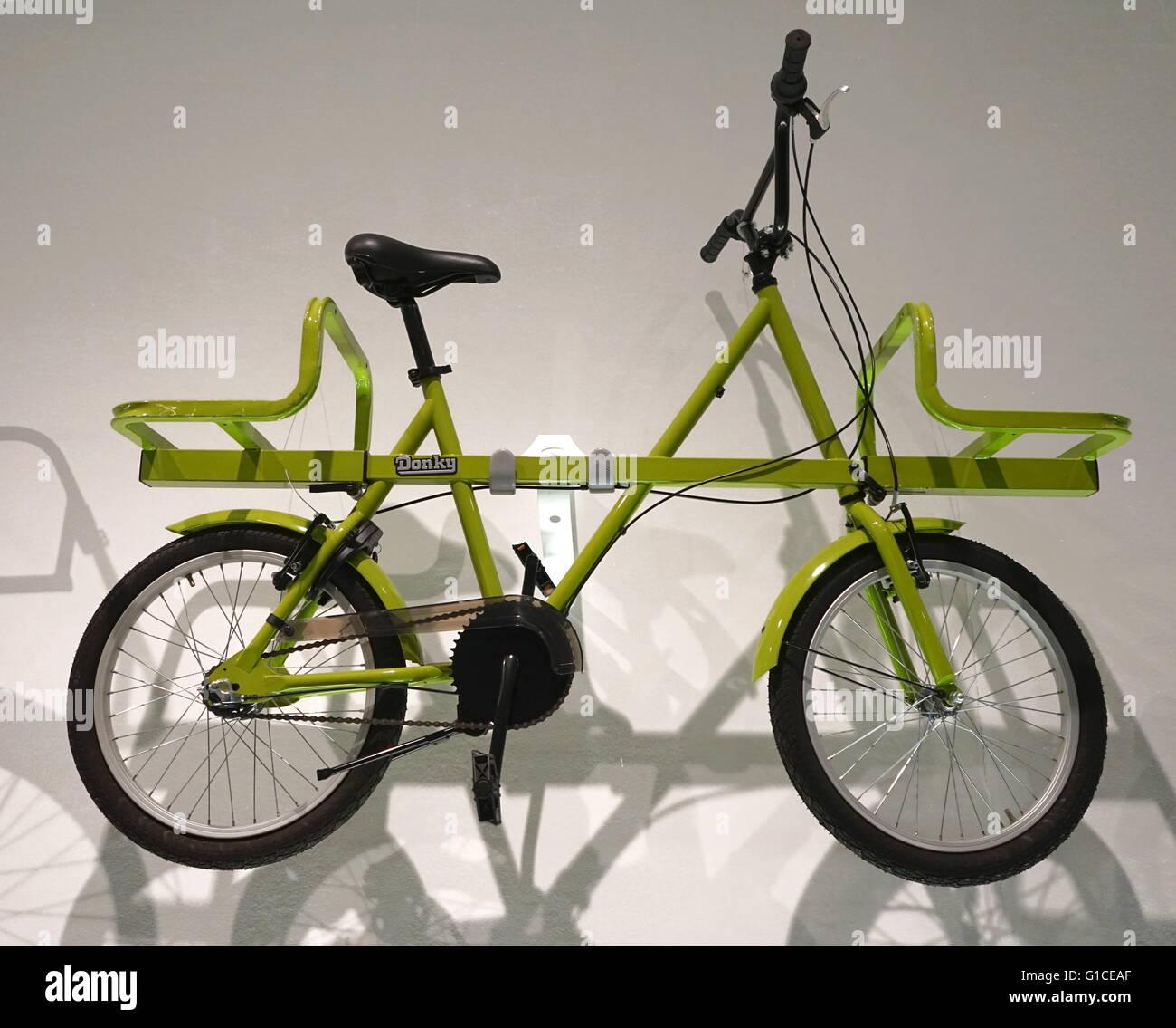 Donkey Bike designed by Ben Wilson. Dated 2015 - Stock Image