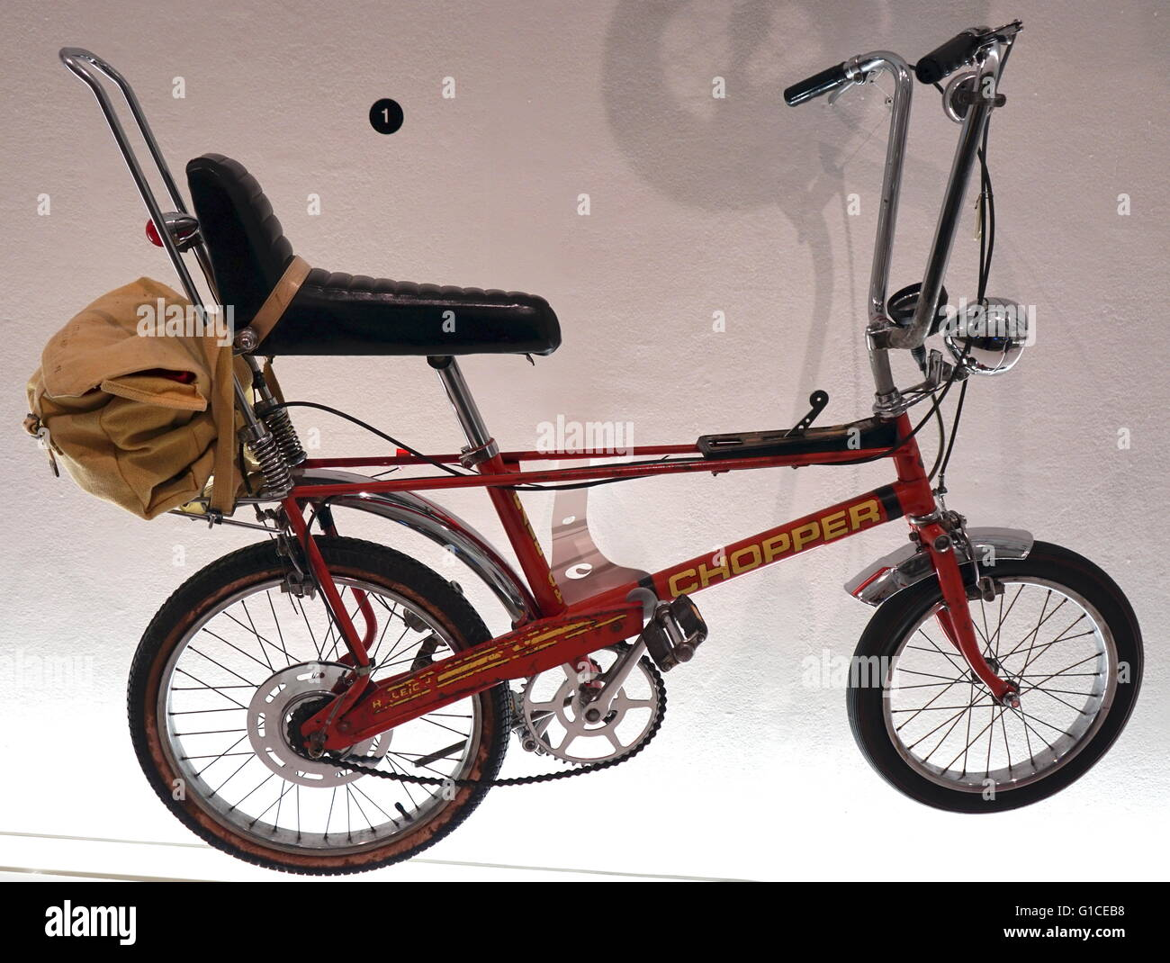 Raleigh Chopper designed by Ogle Design & Alan Oakley. Dated 1970 Stock Photo