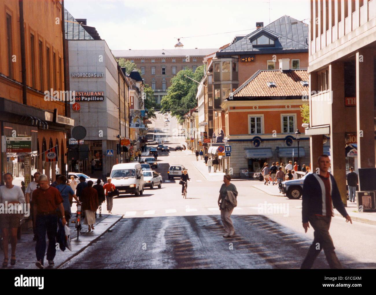 Carolina Rediviva Historical library at Uppsala University Stock Photo