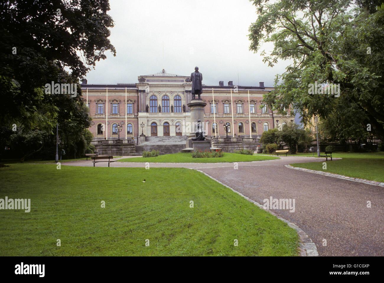 Uppsal University oldest teachings seat in Sweden - Stock Image
