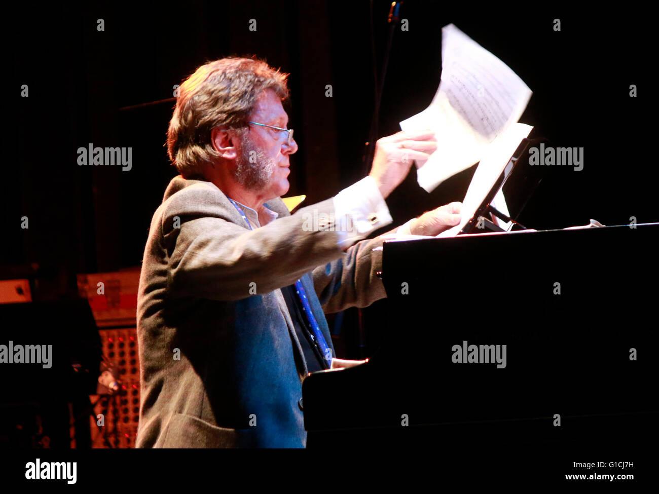 Keith Tippett - Auftritt vom 'The Keith Tippett Octet', Jazzfest, Haus der Berliner Festspiele, 6. November - Stock Image