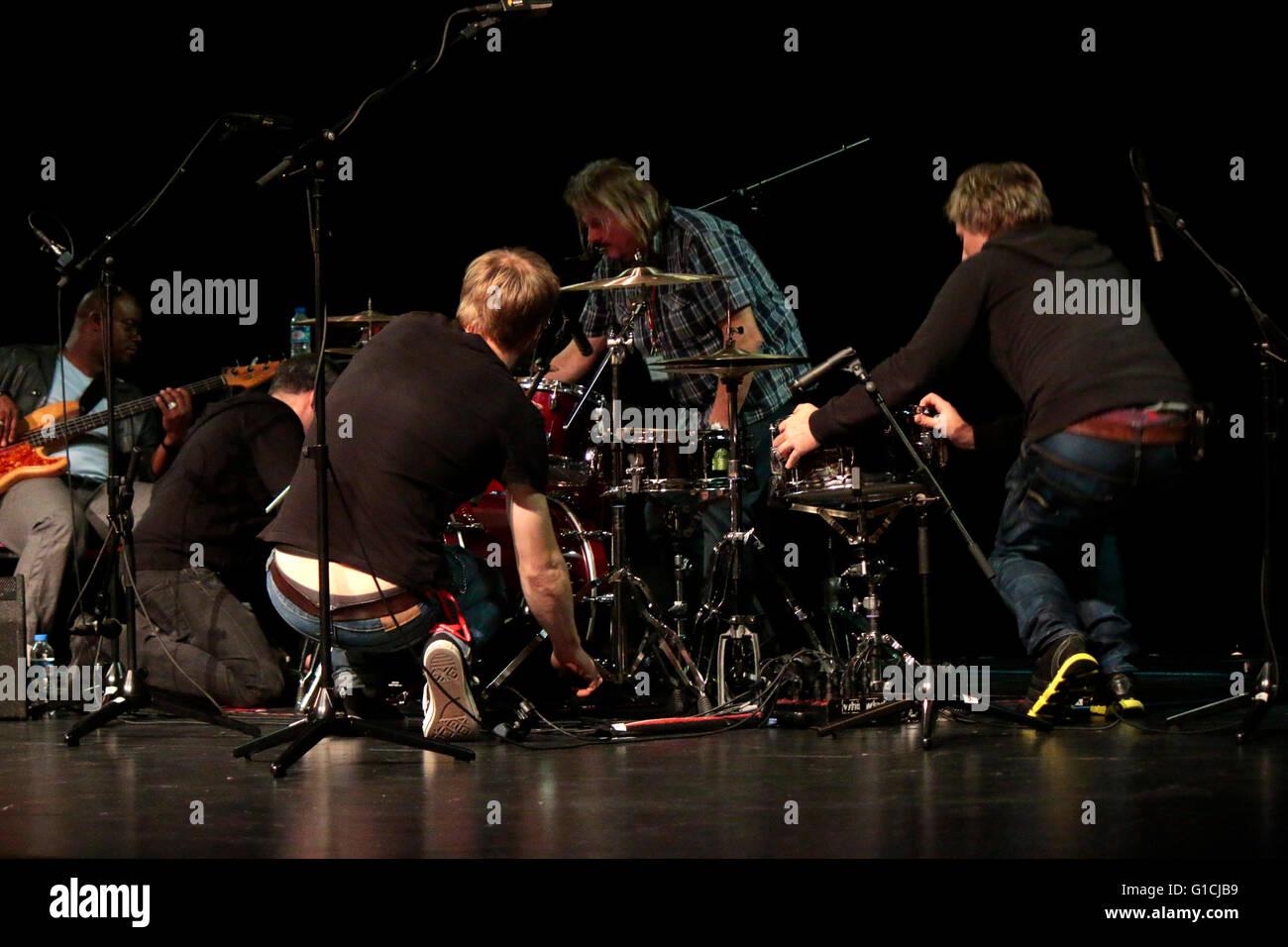 Impressionen - Jazzfest Berlin, 2. November 2014, Berlin. - Stock Image